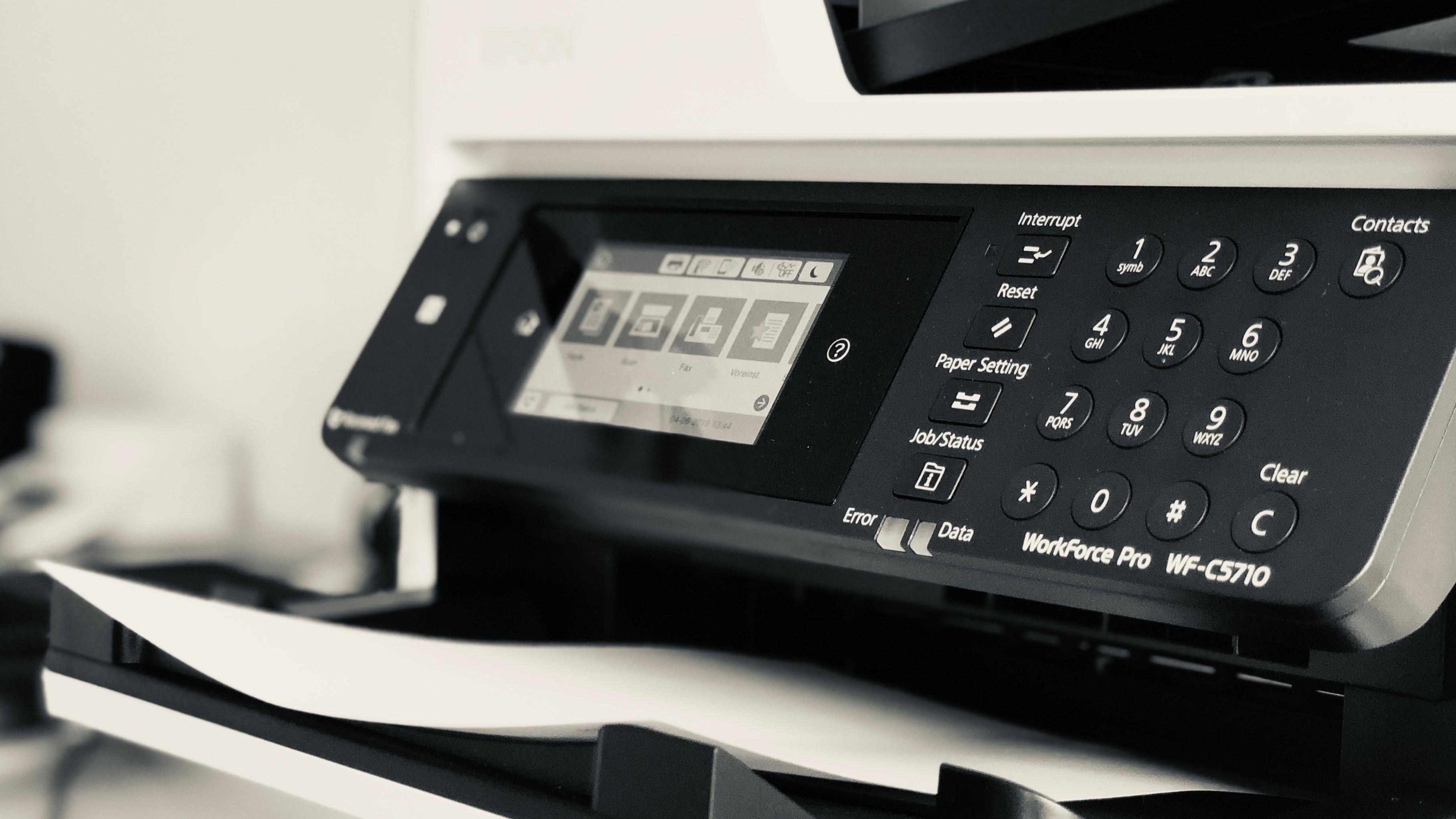 Datenschutzrisiko Drucker
